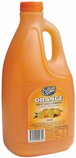 CORDIAL ORANGE  2 LTR (6) EDLYN  *