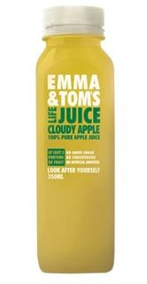 JUICE CLOUDY APPLE  350ML (10) EMMA & TO
