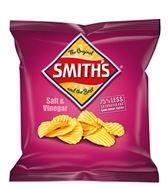 CHIPS SMITHS SALT & VINEGAR 27GM (21)*