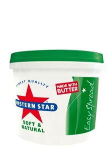 BUTTER 2KG (4) SPREADABLE  WESTERN STAR