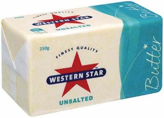 BUTTER UNSALTED 250GM (32) WESTERN STAR