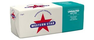 BUTTER UNSALTED 1.5KG (8) WESTERN STAR