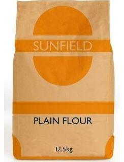 FLOUR PLAIN 12.5KG SUNFIELD