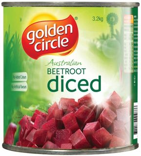 BEETROOT DICED  A10 (3) G/CIRCLE