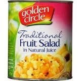 FRUIT SALAD A10 N/JUICE G/CIRCLE