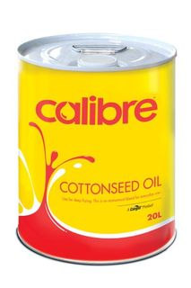 OIL COTTONSEED 20LTR CALIBRE