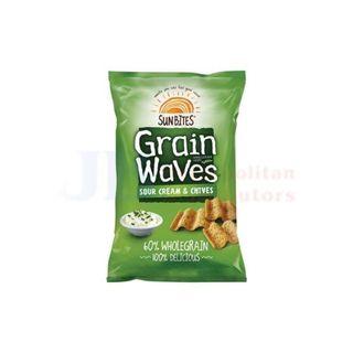 GRAINWAVES S/CREAM & CHIVES 45GM