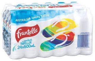 WATER 600ML (24) FRANTELLE