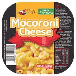 MACARONI CHEESE SINGLE SERVE (24X200G)*