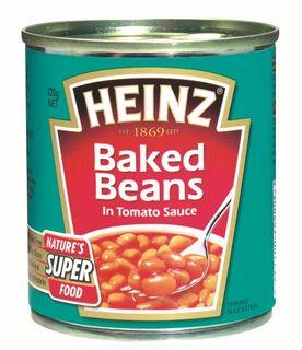 BAKED BEANS 220G (24) HEINZ