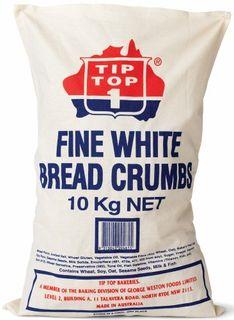 BREAD CRUMBS FINE 10KG TIP TOP