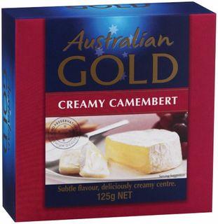 CHEESE CAMEMBERT 115GM (12)  AUST GOLD