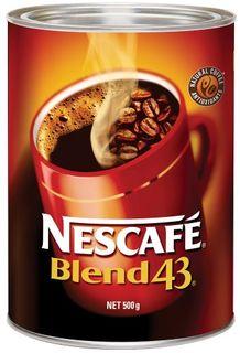 COFFEE NESCAFE BLEND 43 500GM (6)