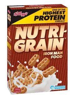 NUTRI GRAIN P/C 25GM (30)  KELLOGG'S