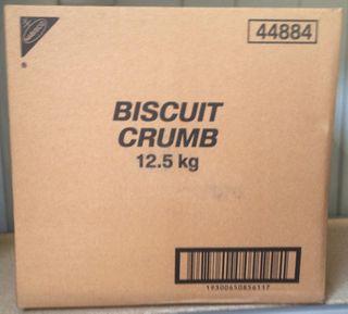 BISCUIT CRUMBS 12.5KG