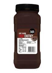 CHUTNEY FRUIT 2.4KG (6) ZOOSH
