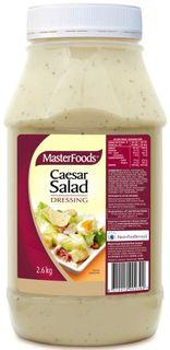 DRESSING CAESAR 2.6KG (6) MASTERFOODS