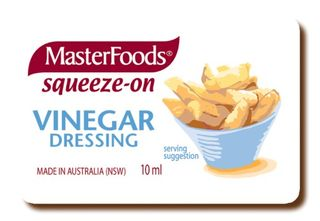 DRESSING VINEGAR P/C 10GM (100) MASTERF