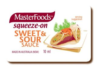 SAUCE SWEET & SOUR 10GM P/C (100) M/FOOD