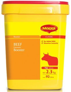 BOOSTER BEEF 2.3KG  (6)  MAGGI
