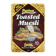 MUESLI TOASTED 1KG (12) PURINA