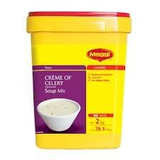 SOUP CREME OF CELERY 2KG (6) MAGGI