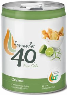OIL FORMULA 40 COTTONSEED 20 LITRE