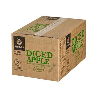 APPLE DICED 15KG  FRESH FIELDS