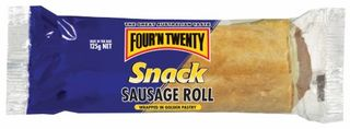 SAUSAGE ROLLS 125GM (24) * FOUR & TWENTY