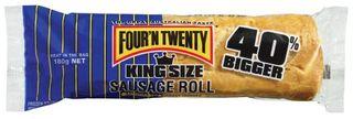 SAUSAGE ROLLS KING SIZE 180GM  (24)* 4N2