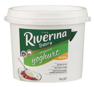 YOGHURT NATURAL 2KG (6) RIVERINA