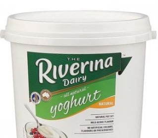 YOGHURT NATURAL 10KG RIVERINA