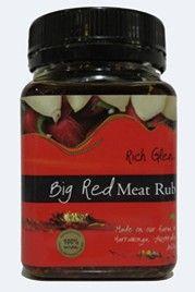 SALT RUB BIG RED & OLIVE OIL  R/GLEN