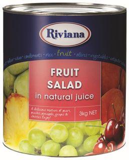 FRUIT SALAD 3KG  N/J (3) RIVIANA