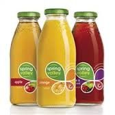 JUICE ORANGE 250ML (30) SPRINGVALLEY