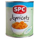 APRICOT HALVES NAT JUICE  825GM (12) SPC