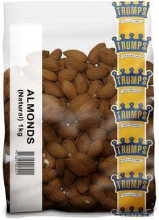 ALMOND NATURAL 1KG (10) TRUMPS