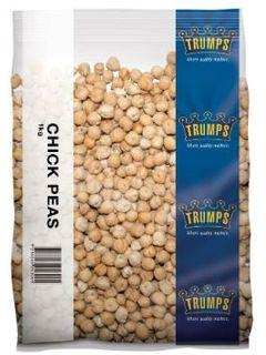 CHICK PEAS 1KG  (6)   TRUMPS