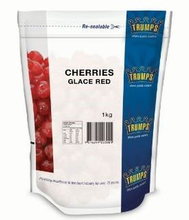 CHERRIES RED 1KG (10) * TRUMPS