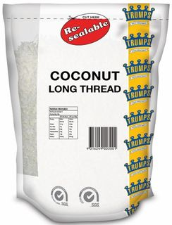 COCONUT SHREDDED 1KG (6) TRUMPS