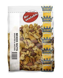 MIXED NUTS 1KG (10) *  TRUMPS