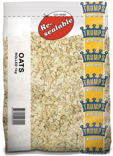 OATS TRADITIONAL ROLLED 1KG (10) TRUMPS