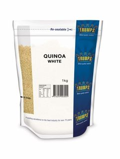 QUINOA WHITE 1KG (10) TRUMPS