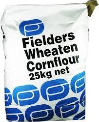 CORNFLOUR 25KG FIELDERS WHEAT