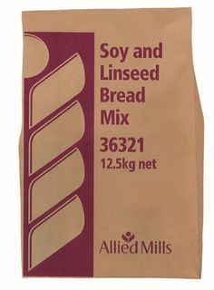 FLOUR SOY & LINSEED 12.5KG ALLIED