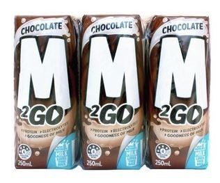 M2GO MILK CHOCOLATE 250ML (24) *