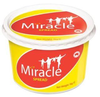 MARGARINE 1KG (8) MIRACLE