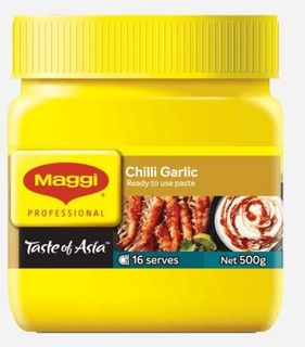 PASTE CHILLI/GARLIC 500G (6)
