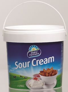 SOUR CREAM LITE 2LT  DAIRY FARMERS