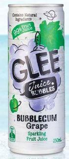 DRINKS BUB/GRAPE GLEE 250ML(24)*